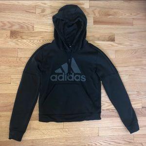 Black adidas hoodie/ sweatshirt
